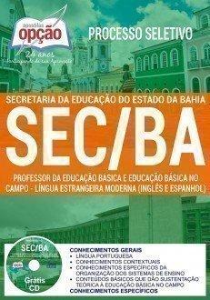 PROFESSOR - LÍNGUA ESTRANGEIRA MODERNA (INGLÊS E ESPANHOL)