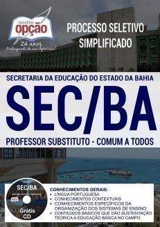 PROFESSOR SUBSTITUTO - COMUM A TODOS