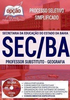 PROFESSOR SUBSTITUTO - GEOGRAFIA