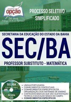 PROFESSOR SUBSTITUTO - MATEMÁTICA