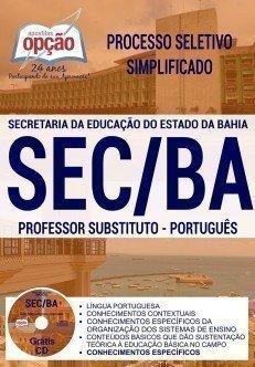 PROFESSOR SUBSTITUTO - PORTUGUÊS