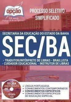 TRADUTOR / INTERPRETE DE LIBRAS, CUIDADOR EDUCACIONAL, BRAILLISTA E INSTRUTOR DE LIBRAS