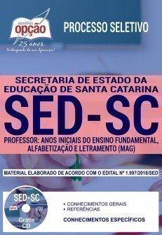 PROFESSOR - ANOS INICIAIS DO ENS. FUND., ALFABETIZAÇÃO E LETRAMENTO (MAG)