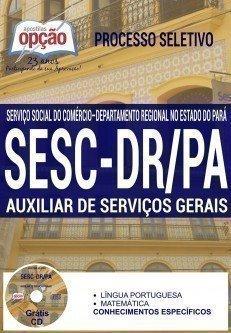 Apostila sescpa 2016 AUXILIAR DE SERVIÇOS GERAIS