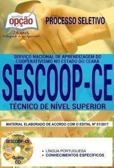Apostila Processo Seletivo SESCOOP CE 2017 | TÉCNICO DE NÍVEL SUPERIOR