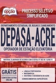 OPERADOR DE ESTAÇÃO ELEVATÓRIA