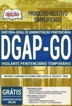 VIGILANTE PENITENCIÁRIO TEMPORÁRIO
