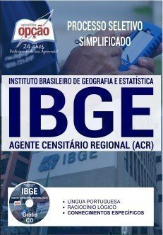 Apostila PSS IBGE 2017 - Agente Censitário Regional (ACR)