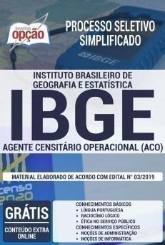 AGENTE CENSITÁRIO OPERACIONAL (ACO)