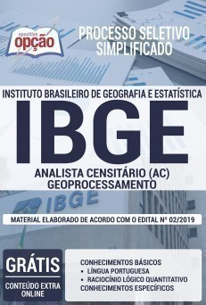 ANALISTA CENSITÁRIO - GEOPROCESSAMENTO