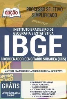 COORDENADOR CENSITÁRIO SUBÁREA (CCS)