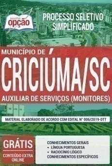 AUXILIAR DE SERVIÇOS (MONITORES)