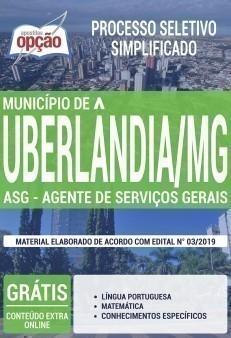 ASG - AGENTE DE SERVIÇOS GERAIS