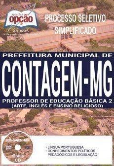 PROFESSOR DE EDUCAÇÃO BÁSICA 2 (ARTE, INGLÊS E ENSINO RELIGIOSO)