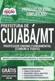 PROFESSOR ENSINO FUNDAMENTAL (CONTEÚDO COMUM A TODOS OS CARGOS)