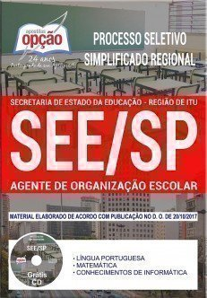 Processo Seletivo Simplificado Regional SEE-SP Itu 2017