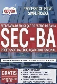 PROFESSOR DA EDUCAÇÃO PROFISSIONAL