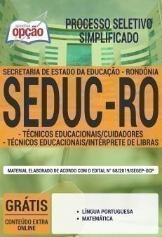 TÉCNICO EDUCACIONAIS - CUIDADORES E INTÉRPRETES DE LIBRAS