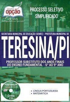 PROFESSOR SUBSTITUTO - 6º AO 9º ANO