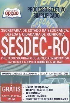 PRESTADOR VOLUNTÁRIO DE SERVIÇO ADM DA PM E CBM