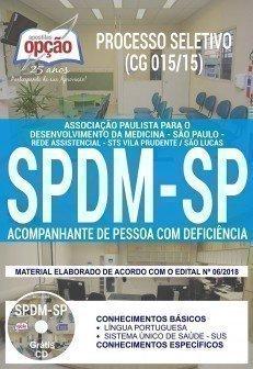 ACOMPANHANTE DE PESSOA COM DEFICIÊNCIA