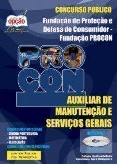 Apostila Auxiliar De Manutenção E Serviços Gerais - Concurso Procon / SP...