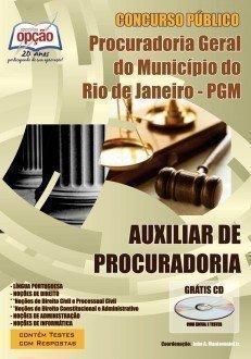 Apostila Auxiliar De Procuradoria - Concurso Procuradoria Geral Do Rio De Janeir...
