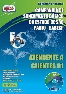 Apostila Atendente A Clientes 01 - Concurso Sabesp