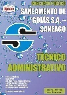Apostila Técnico Administrativo - Concurso Saneamento De Goiás S.A. (saneago)...