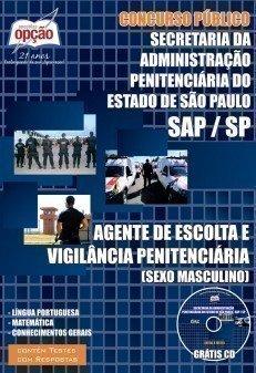 Apostila Agente De Escolta E Vigilância Penitenciária - Concurso Sap / SP (esc...