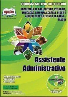 Apostila Assistente Administrativo - Concurso Seagri