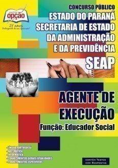 AGENTE DE EXECUÇÃO – FUNÇÃO: EDUCADOR SOCIAL