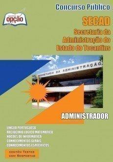 Apostila Administrador - Concurso Secad / To