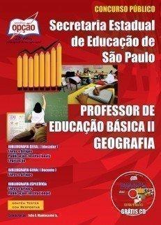 Apostila Professor De Geografia – Peb I I (completa) - Concurso Secretaria Da E...