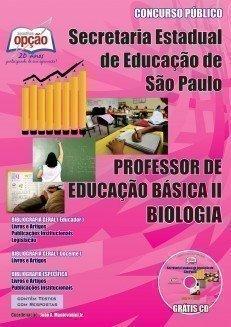 Apostila Professores De Biologia – Peb I I (completa) - Concurso Secretaria Da ...