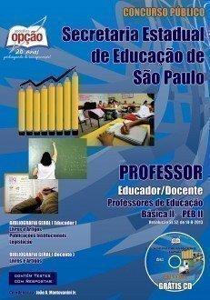 Apostila Professores De Educação Básica I I – Peb I I - Concurso Secretaria ...