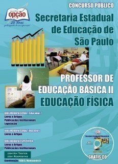 Apostila Professores De Educação Física – Peb I I (completa) - Concurso Secr...
