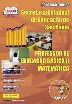 Apostila Professores De Matemática – Peb I I (completa) - Concurso Secretaria ...