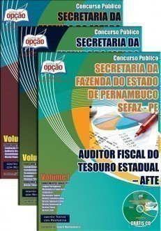 AUDITOR FISCAL DO TESOURO ESTADUAL – AFTE I