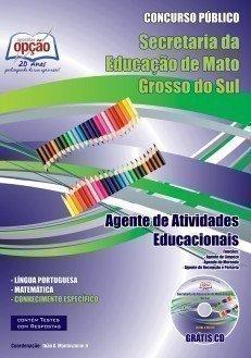 Apostila Agente De Atividades Educacionais - Concurso Secretaria De Administraç...