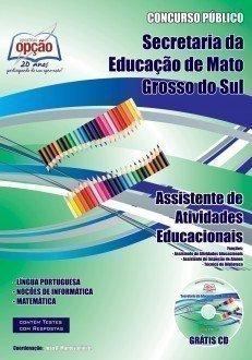 Apostila Assistente De Atividades Educacionais - Concurso Secretaria De Administ...
