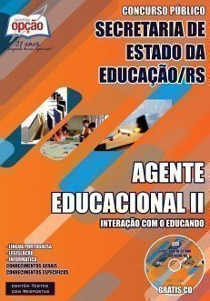 AGENTE EDUCACIONAL II – INTERAÇÃO COM O EDUCANDO