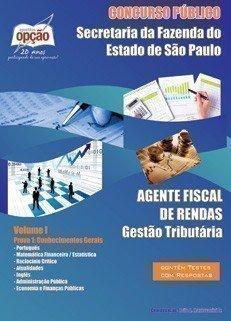 AGENTE FISCAL DE RENDAS - VOLUME I