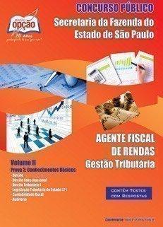 AGENTE FISCAL DE RENDAS - VOLUME II