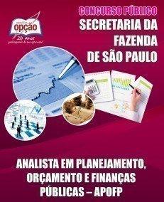 ANALISTA EM PLANEJAMENTO, ORÇAMENTO E FINANÇAS PÚBLICAS