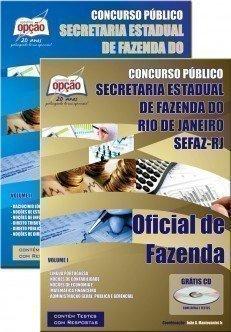 Apostila Concurso Secretaria de Fazenda do Estado do Rio de Janeiro SEFAZ RIO Oficial de Fazenda.