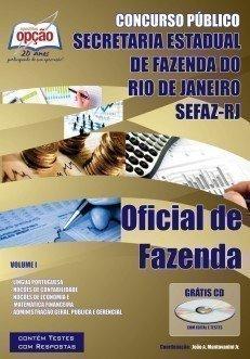 Apostila Oficial De Fazenda - Volume I - Concurso Secretaria De Estado Da Fazend...