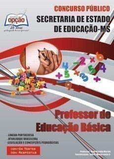 Apostila Professor De Educação Básica - Concurso Secretaria De Estado De Educ...
