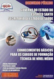 Apostila Conhecimentos Básicos Nível Médio - Concurso Secretaria De Estado De...