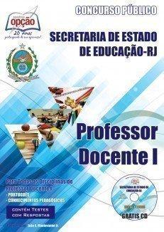 Apostila Professor – Docente I - Concurso Secretaria De Estado E Da Educação ...